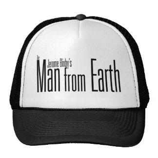 El hombre de la gorra de béisbol de la tierra