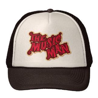 El hombre de la música gorras