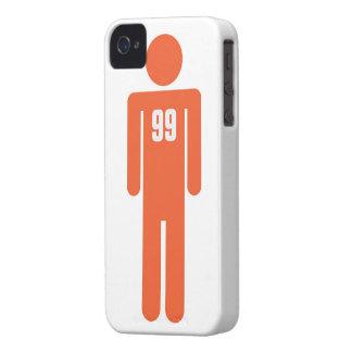 El hombre del 99 por ciento carcasa para iPhone 4
