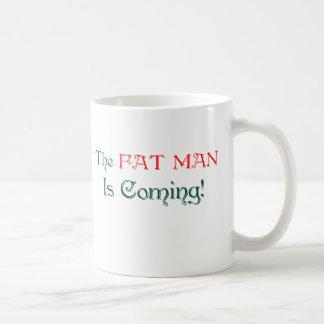 ¡El HOMBRE del FAT está viniendo! Tazas