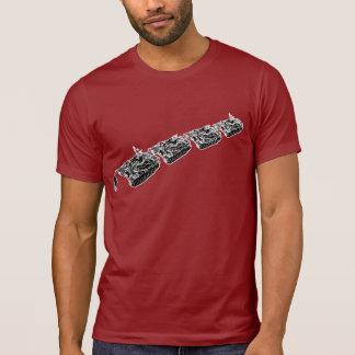 El hombre del tanque desobedece la camiseta camisas