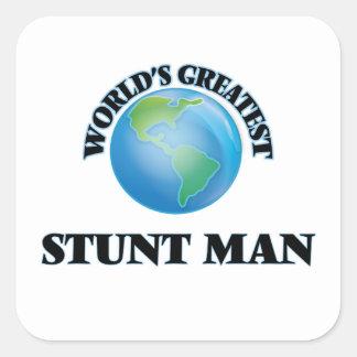 El hombre del truco más grande del mundo colcomanias cuadradass