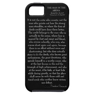 El hombre en caso de iPhone-5 de la arena iPhone 5 Case-Mate Fundas