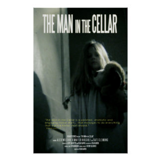 El hombre en el sótano poster