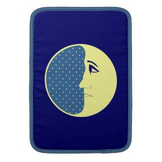 El hombre en la luna funda para macbook air