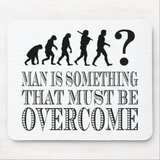 El hombre es algo que debe ser superado (Nietzsche Tapete De Ratón
