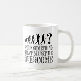 El hombre es algo que debe ser superado (Nietzsche Taza De Café