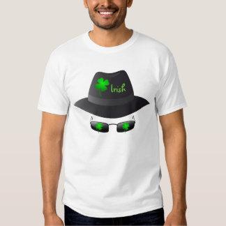El hombre invisible irlandés - camiseta playera