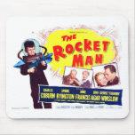 El hombre Mousepad de Rocket Alfombrilla De Raton