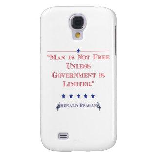 El hombre no está libre a menos que el gobierno se