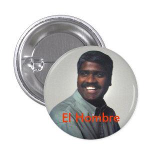 El Hombre Pinback Button