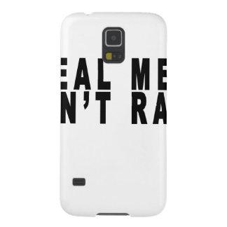 El hombre real no viola Shirt.png Carcasa Para Galaxy S5