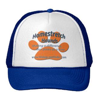 El Homestretch persigue el logotipo de la pata Gorro