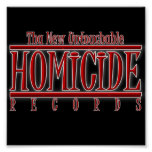 El homicidio registra el poster