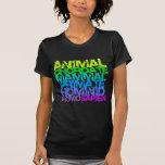 El homo sapien a las señoras T oscuro Camisetas