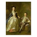 El Hon. Raquel Hamilton y su hermano Tarjetas Postales