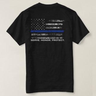 El honor del servicio protege la bandera playera