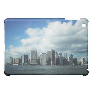 El horizonte de New York City, una opinión del río