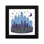 El horizonte de Philly mega se refresca Cajas De Joyas