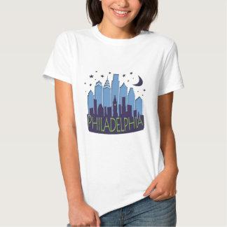El horizonte de Philly mega se refresca Camisas