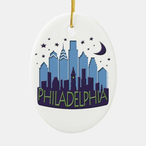 El horizonte de Philly mega se refresca Ornamente De Reyes