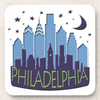 El horizonte de Philly mega se refresca Posavasos