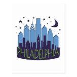 El horizonte de Philly mega se refresca Postal