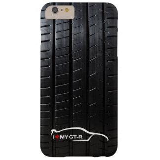 El horizonte GT-r con el neumático pisa Funda De iPhone 6 Plus Barely There