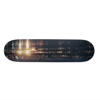 El horizonte quema el Hudson Patin Personalizado