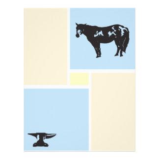 "el horseshoeing folleto 8.5"" x 11"""