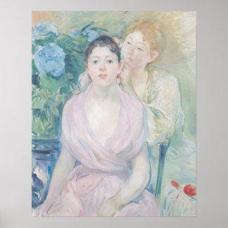El Hortensia, o las dos hermanas, 1894 Póster