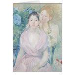 El Hortensia, o las dos hermanas, 1894 Tarjeta De Felicitación