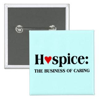 El hospicio está en el negocio de cuidar para otro pin cuadrado