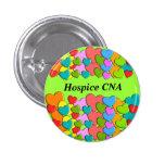 El hospicio PUEDE los corazones coloridos de los b Pins
