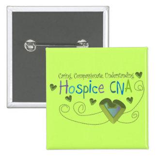 El hospicio PUEDE poner verde corazones Pin