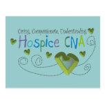 El hospicio PUEDE poner verde corazones Postales