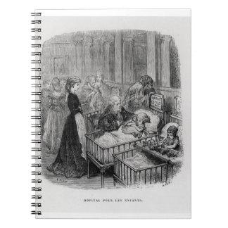 """El hospital de niños, de """"Londres: Un peregrinaje"""" Cuadernos"""