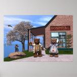 El hospital de niños impresiones