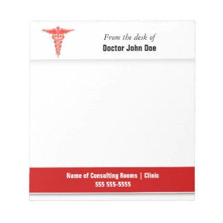 El hospital el | de la prescripción de las blocs de notas