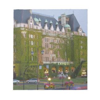 El hotel de la emperatriz en el puerto interno ade blocs de papel