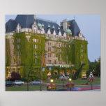 El hotel de la emperatriz en el puerto interno ade póster