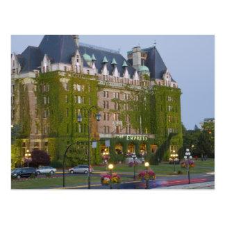 El hotel de la emperatriz en el puerto interno tarjeta postal