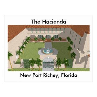 El hotel de la hacienda: Nuevo puerto Richey FL: P Postal