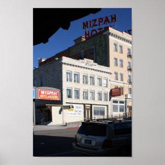 El hotel de Mizpah Tonopah Nevada Posters