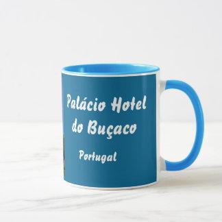 El hotel de Palácio hace la taza de Buçaco