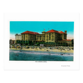 El hotel de Virginia, Long Beach, California Postal