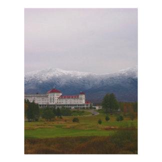 """El hotel de Washington del soporte Folleto 8.5"""" X 11"""""""