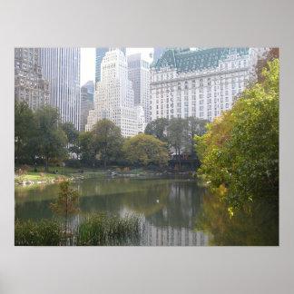 El hotel en el Central Park Póster