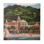El hotel hawaiano real azulejos ceramicos
