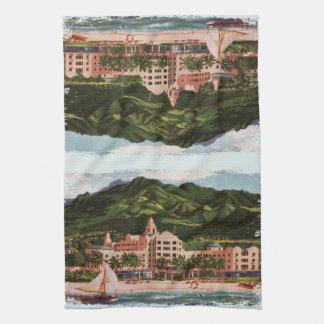 El hotel hawaiano real toalla